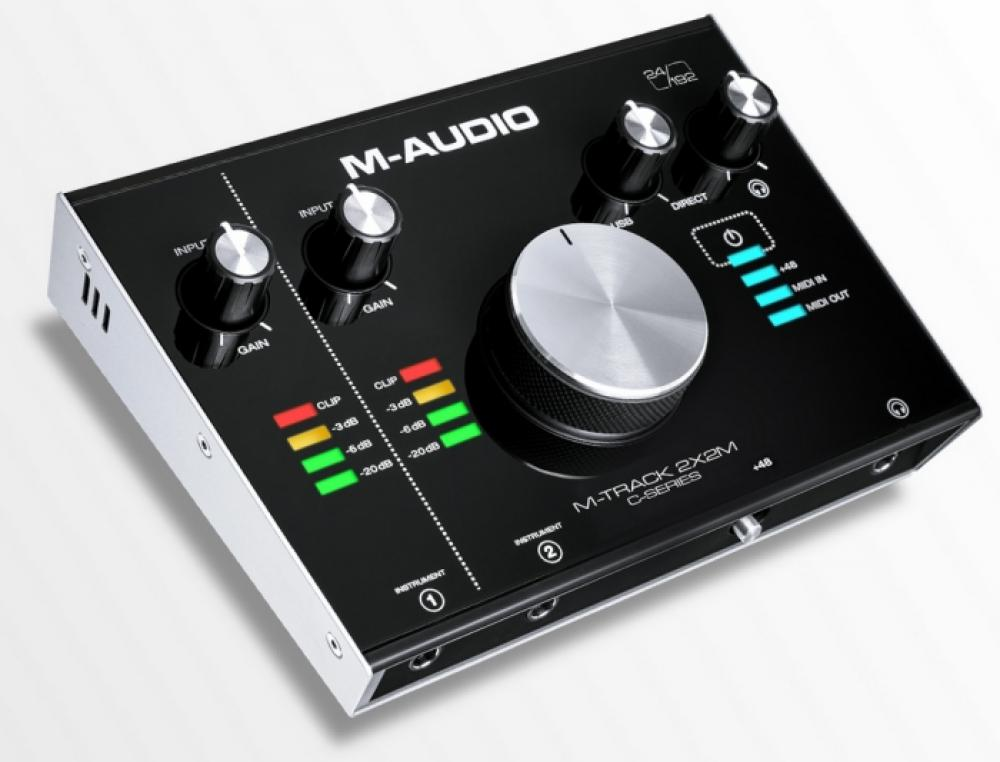 M-Audio: M-Track 2X2 e 2x2M