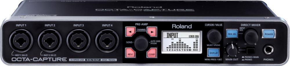 Un'interfaccia audio per registrare tutta la band