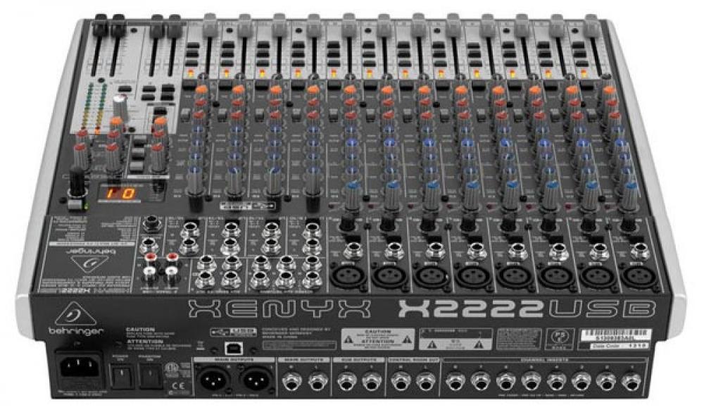 Mixer Behringer Xenyx X2222 USB