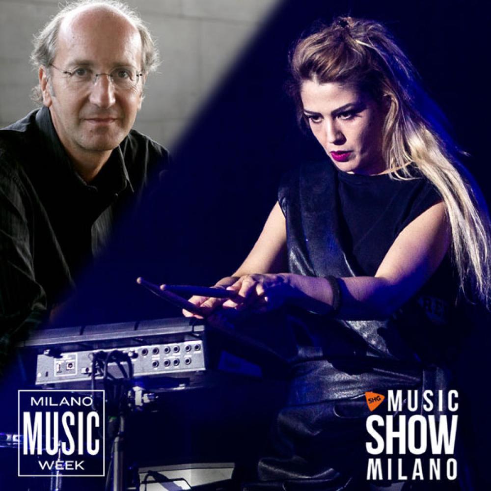 Luca De Gennaro Incontra Beatrice Antolini a Music Show Milano