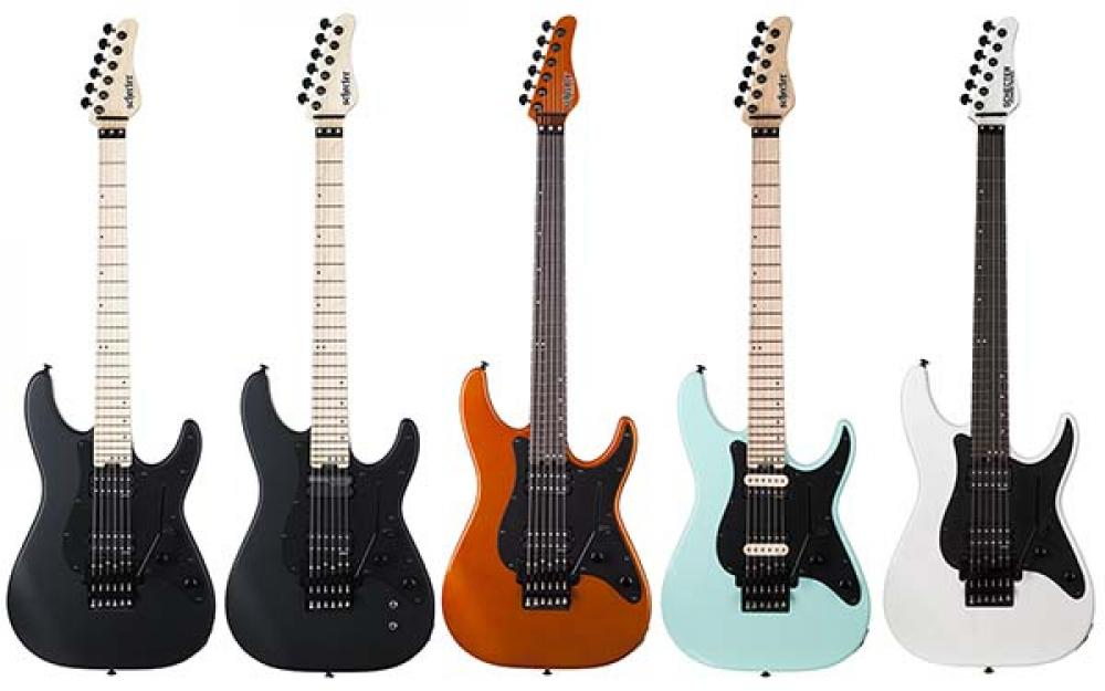EMG e Sustainiac: Schecter mostra le Sun Valley Super Shredder