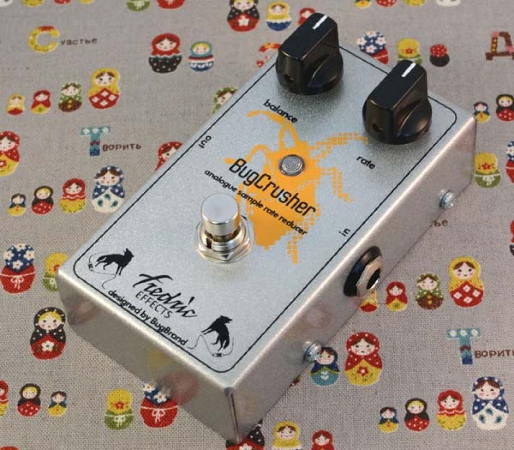 BugCrusher: distruzione sonora analogica secondo Fredric