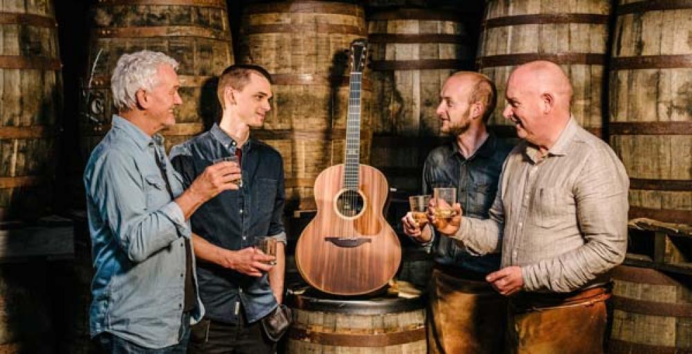 Chitarre al whiskey per l'eredità Lowden