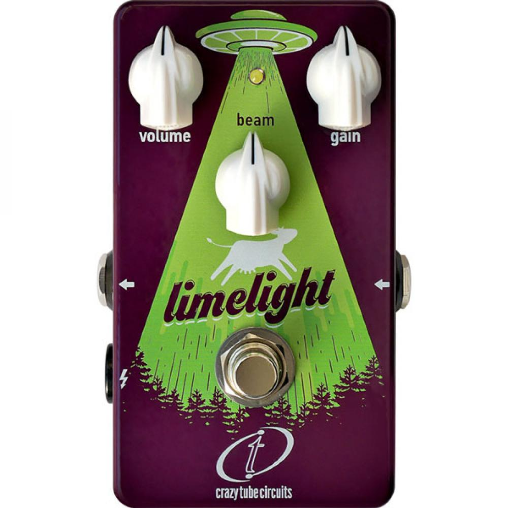 Crazy Tube Limelight: da boost a fuzz a distorsore