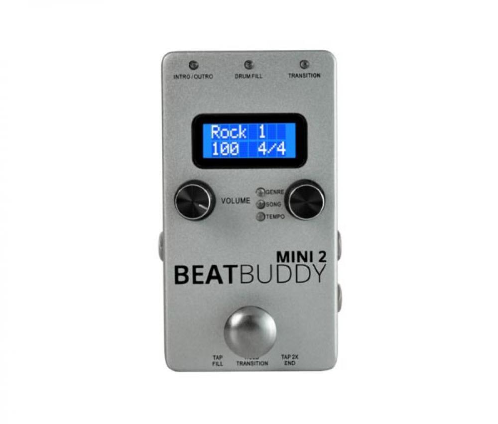BeatBuddy: la mini drum machine per chitarristi si aggiorna