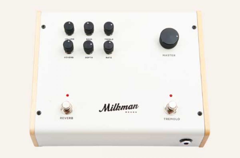 Milkman mette l'ampli valvolare in pedaliera