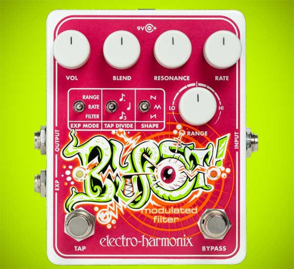 EHX Blurst: elettronica ambient in uno stompbox
