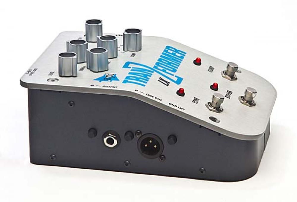 Il calore di API Audio in pedaliera con il TranZformer