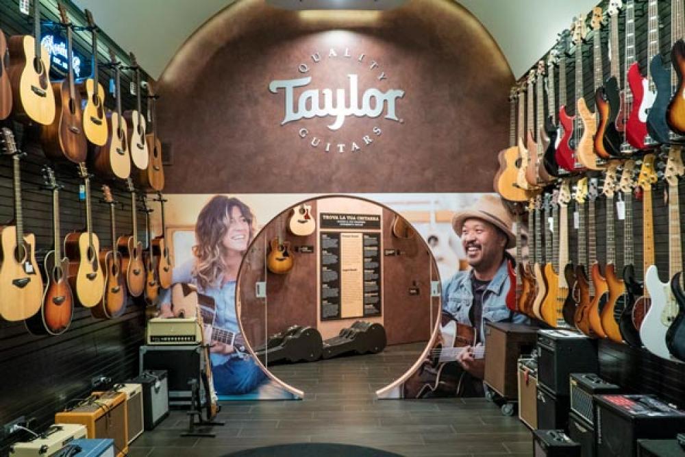 La prima Taylor Room italiana inaugura il Road tour 2018