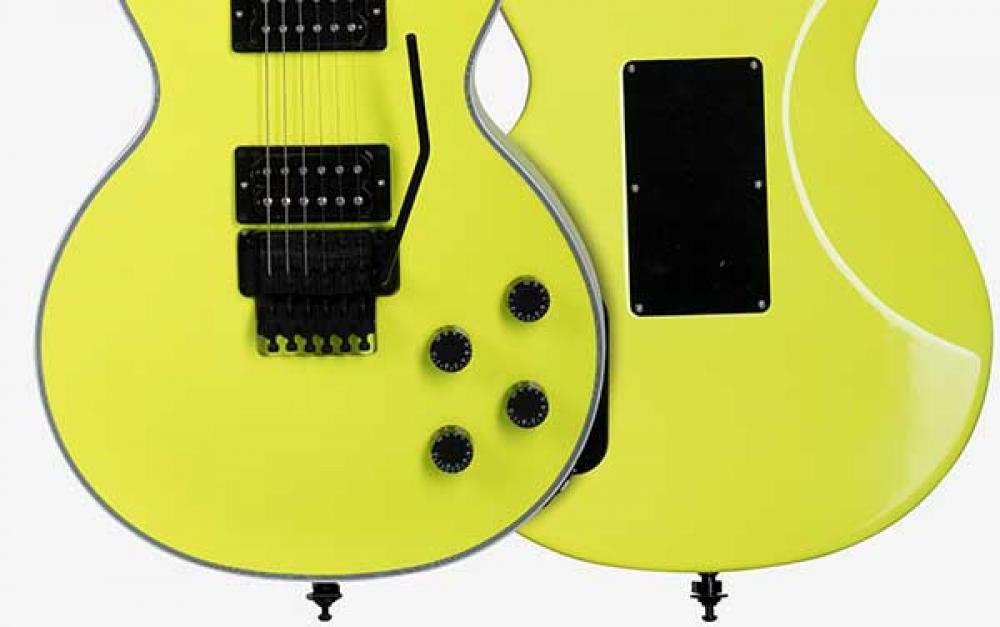 Les Paul Axcess torna con Floyd e colori neon
