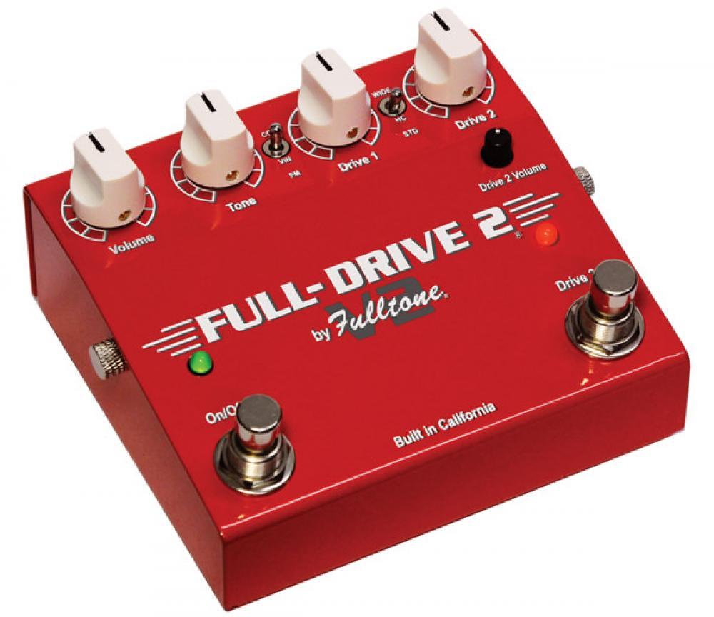 Fulltone Full Drive 2 V2: più piccolo e in regalo