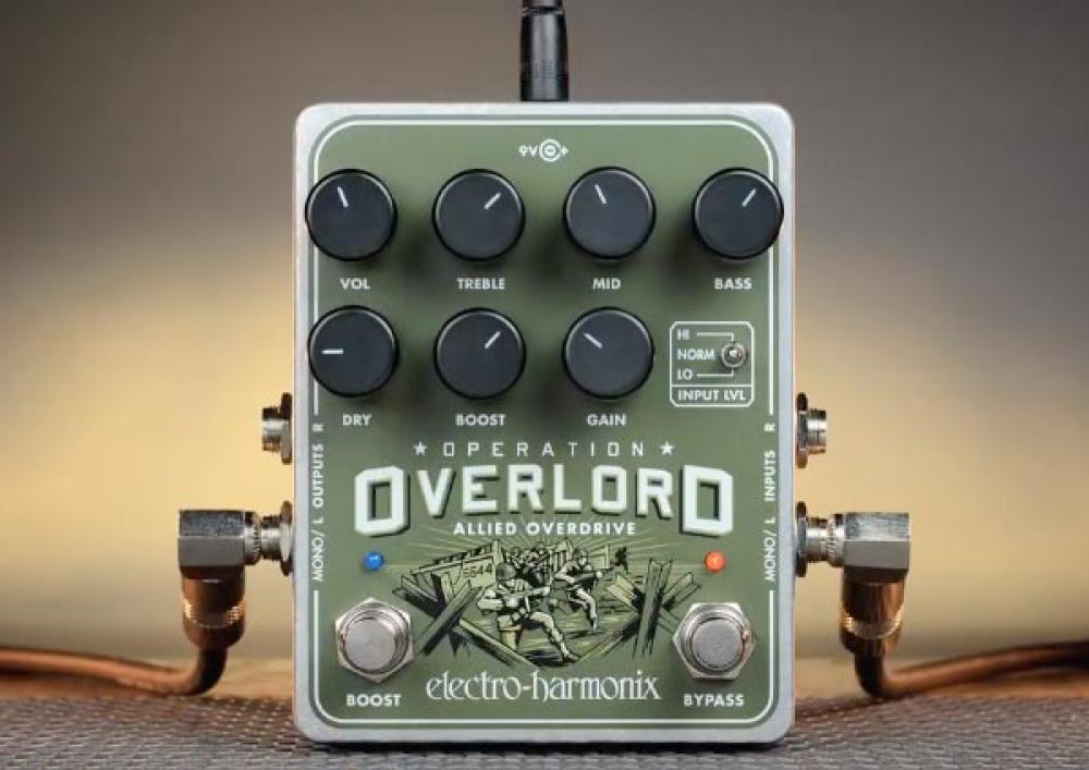 Overlord: l'overdrive EHX arriva dalle tastiere