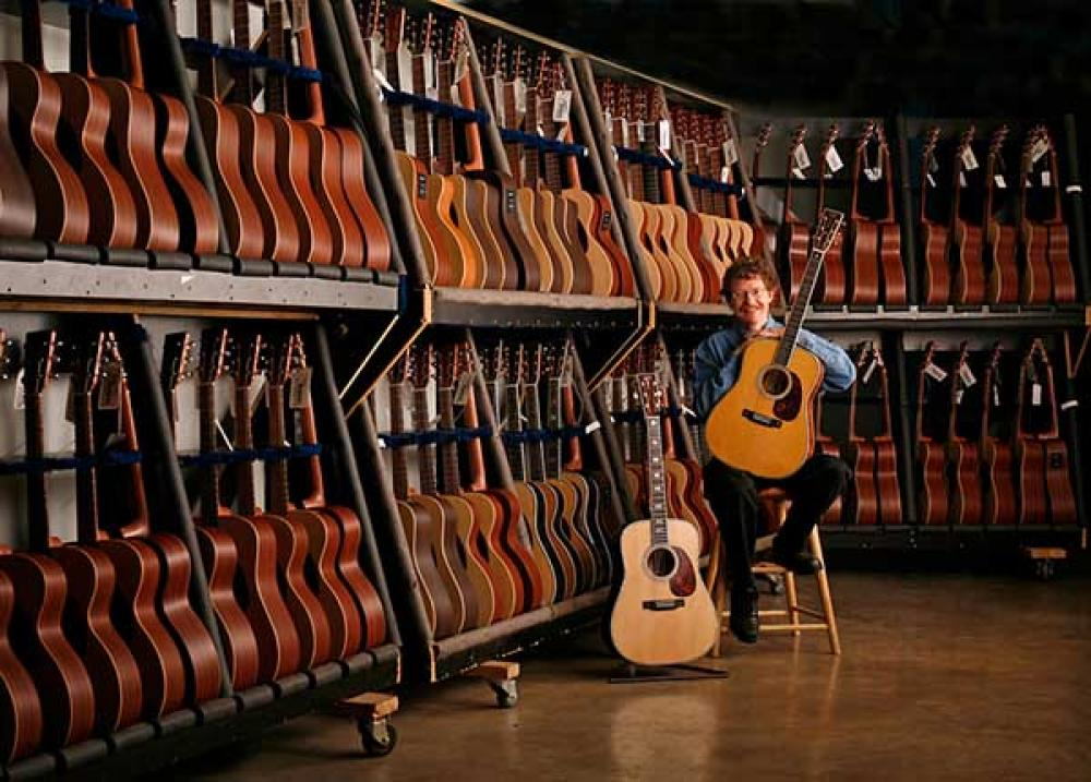 Così nascono le chitarre Martin