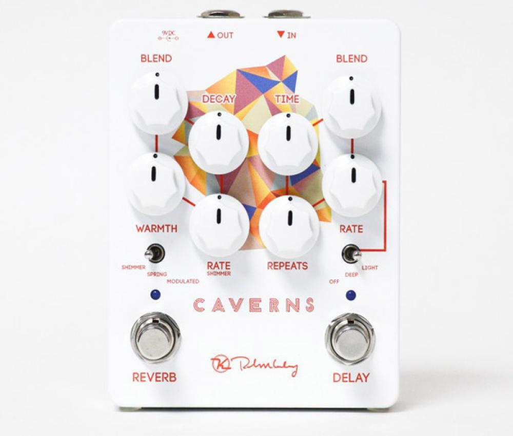 Caverns V2: delay e riverberi psichedelici modulati da Keeley