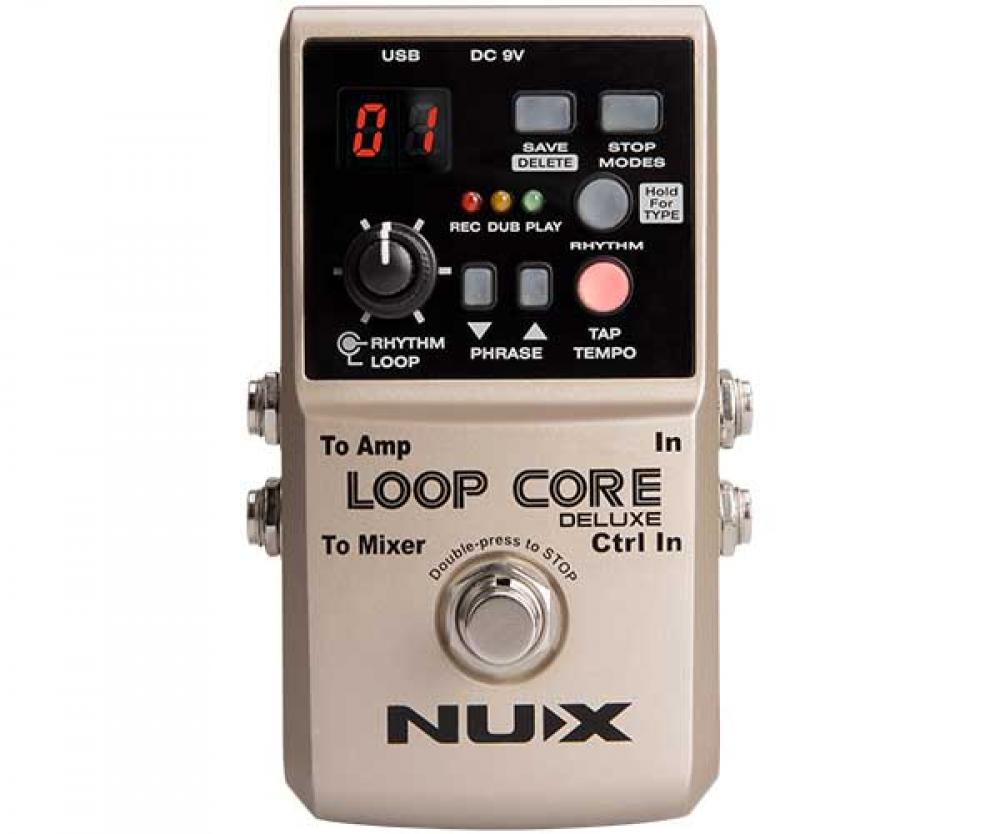Nux Loop Core Deluxe: loop station per tutte le stagioni