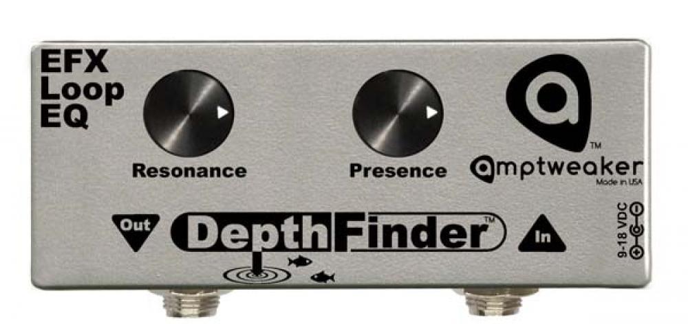 Amptweaker DepthFinder: Presence e Resonance in pedaliera