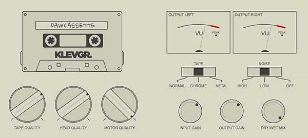 DAW Cassette: il ritorno virtuale del nastro magnetico