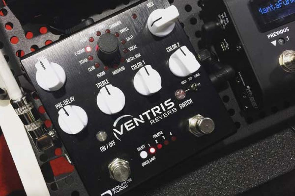 Ventris: la sfida Source Audio con 12 riverberi e un blind test
