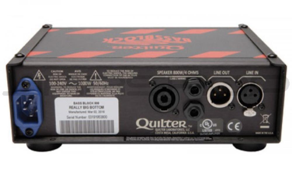 Quilter Bass Block: mostriciattolo minimalista da 800 watt
