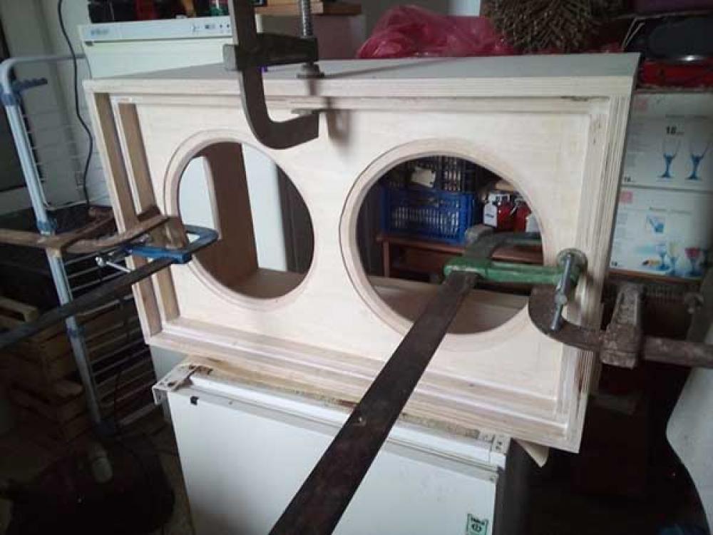 Cabinet 2x12 autocostruito