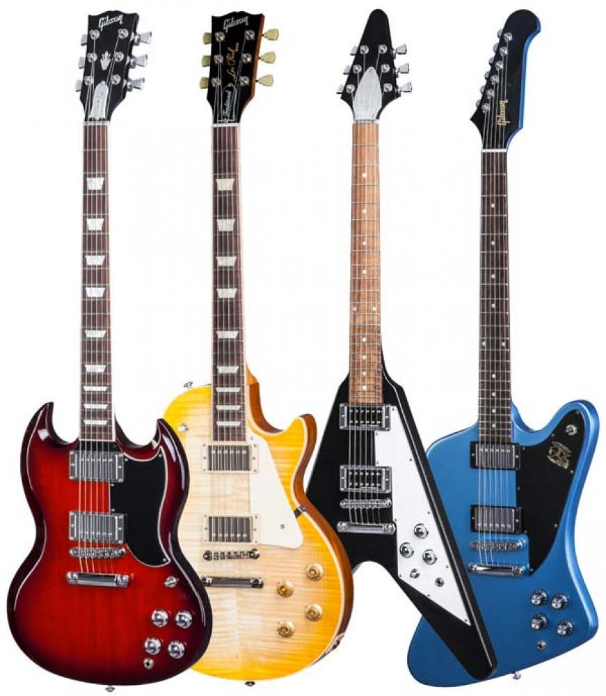 Disegni inediti per Gibson USA nel 2017