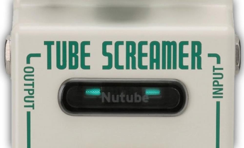Nutube: il Tube Screamer diventa valvolare