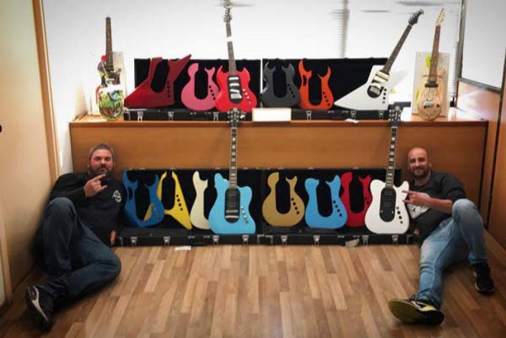 Revolution Guitar: da Pons le elettriche con body intercambiabili