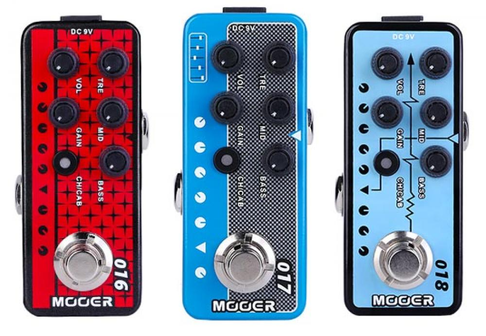 Tre nuovi Micro Preamp da Mooer