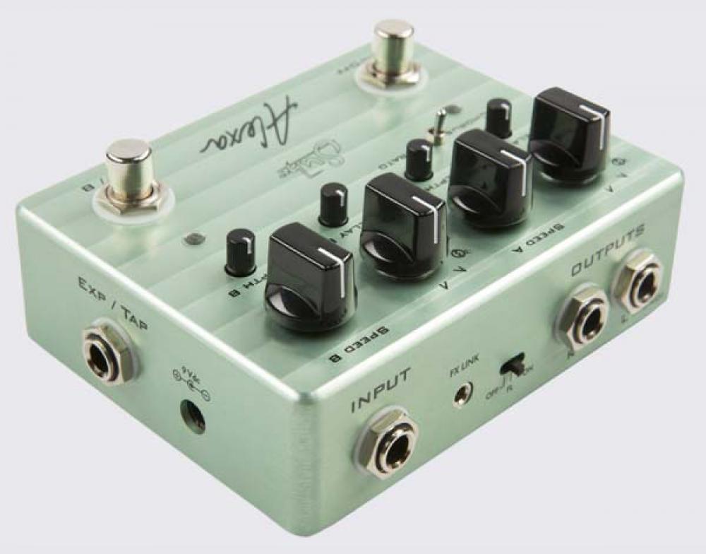 Suhr Alexa: doppie modulazioni analogiche in uno stompbox
