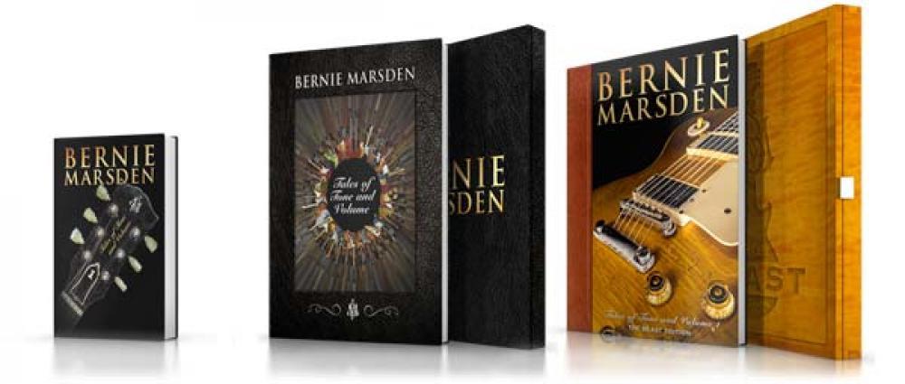 La collezione di Bernie Marsden in un libro fotografico