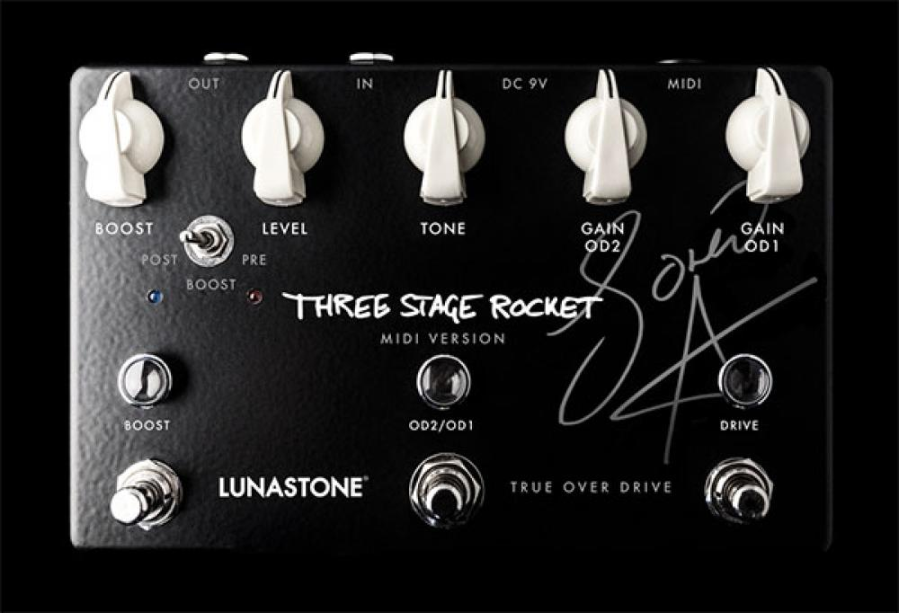 Three Stage Rocket MIDI: l'overdrive programmabile di Søren Andersen