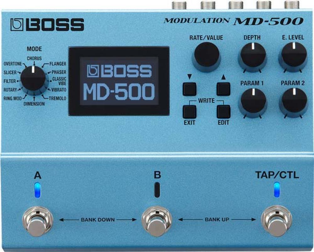 MD500: in prova la fabbrica di modulazioni Boss