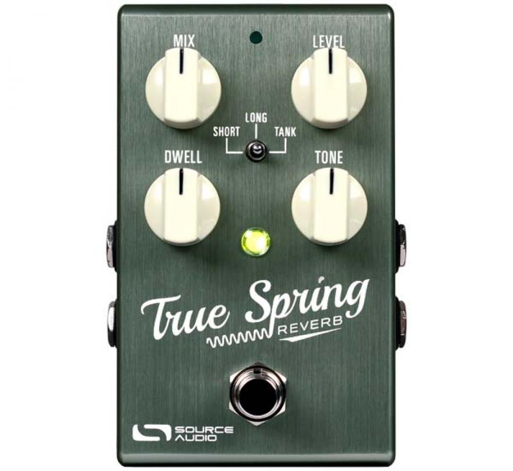 True Spring: riverberi a molla d'ultima generazione da Source Audio