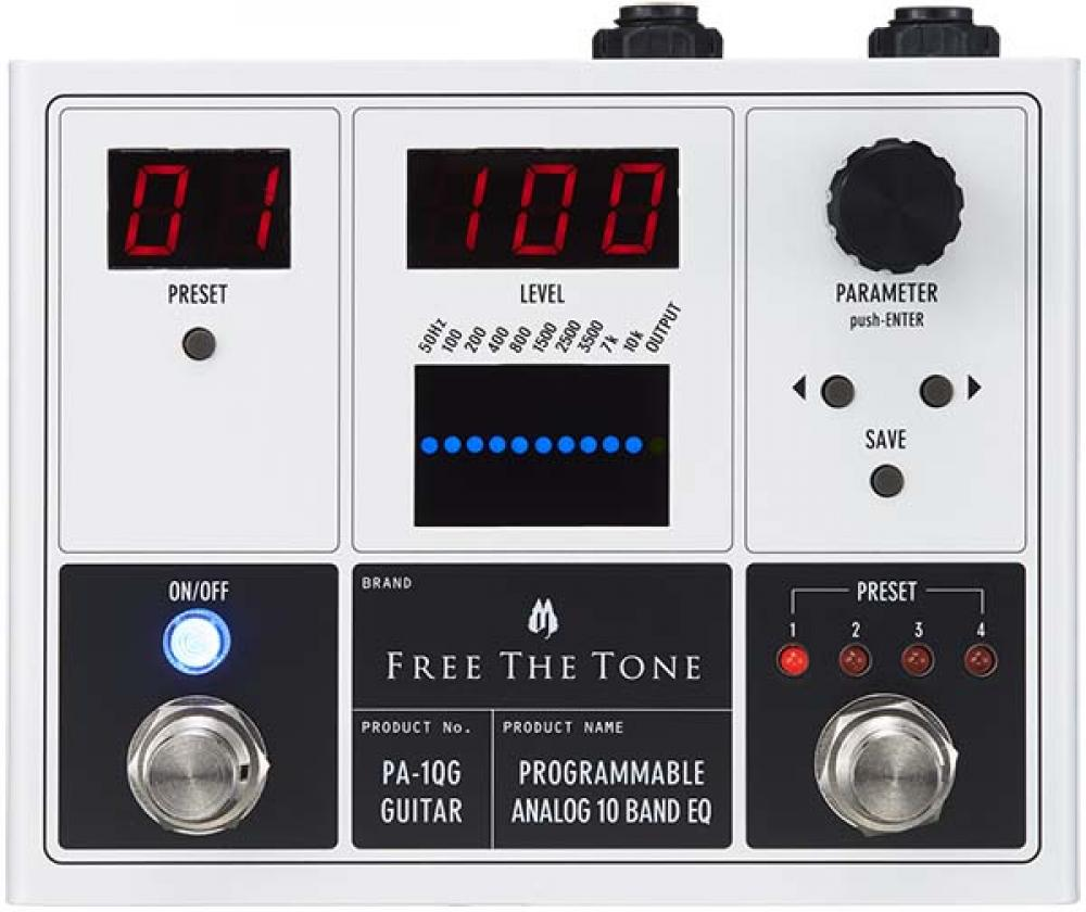 Da Free The Tone l'eq analogico programmabile