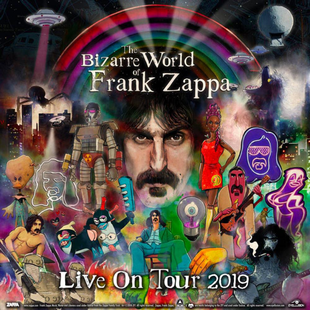 Frank Zappa torna dal vivo… più o meno