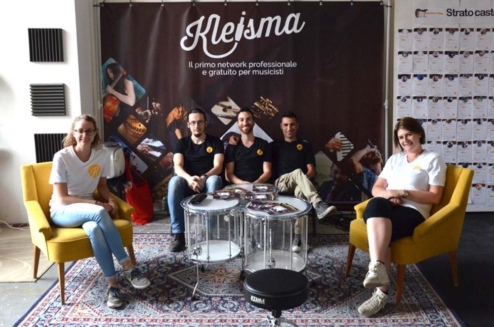 Il nuovo proprietario della Strat di Custom Shop Milano 2018