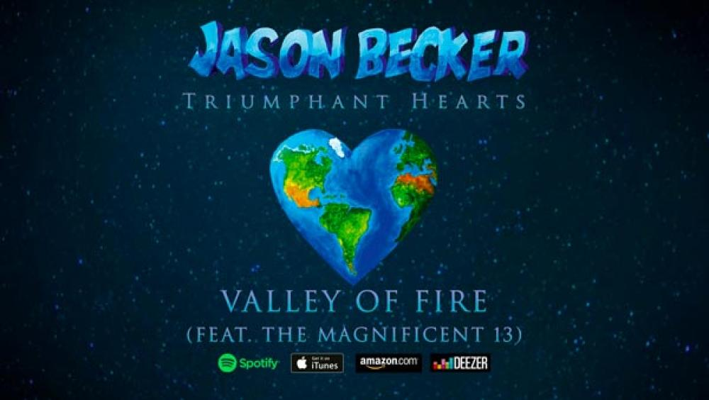 Online il video di Valley Of Fire di Jason Becker