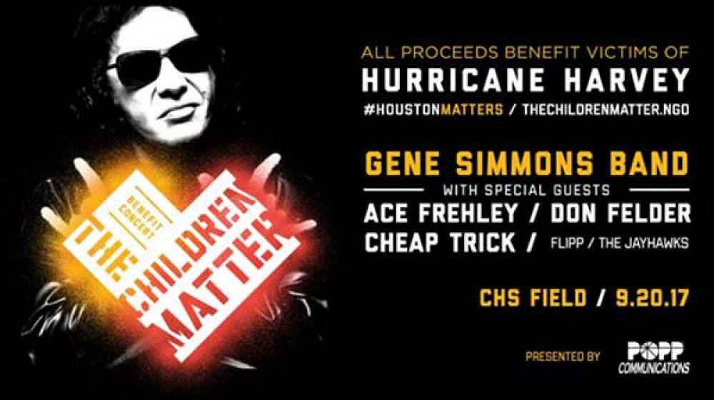 Gene Simmons e Ace Frehley insieme per le vittime dell'uragano