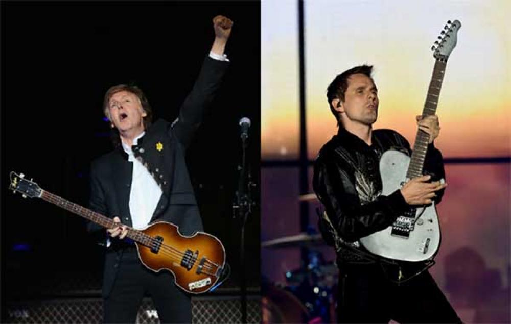 Matt Bellamy: un supergruppo per suonare i Beatles