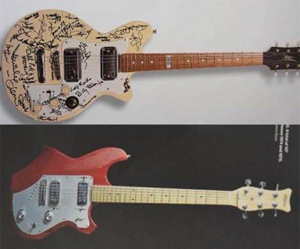 Rubate chitarre rare dallo store Maton