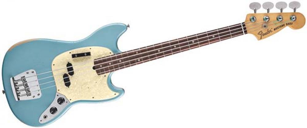 Fender emula il Mustang di Justin Meldal-Johnsen