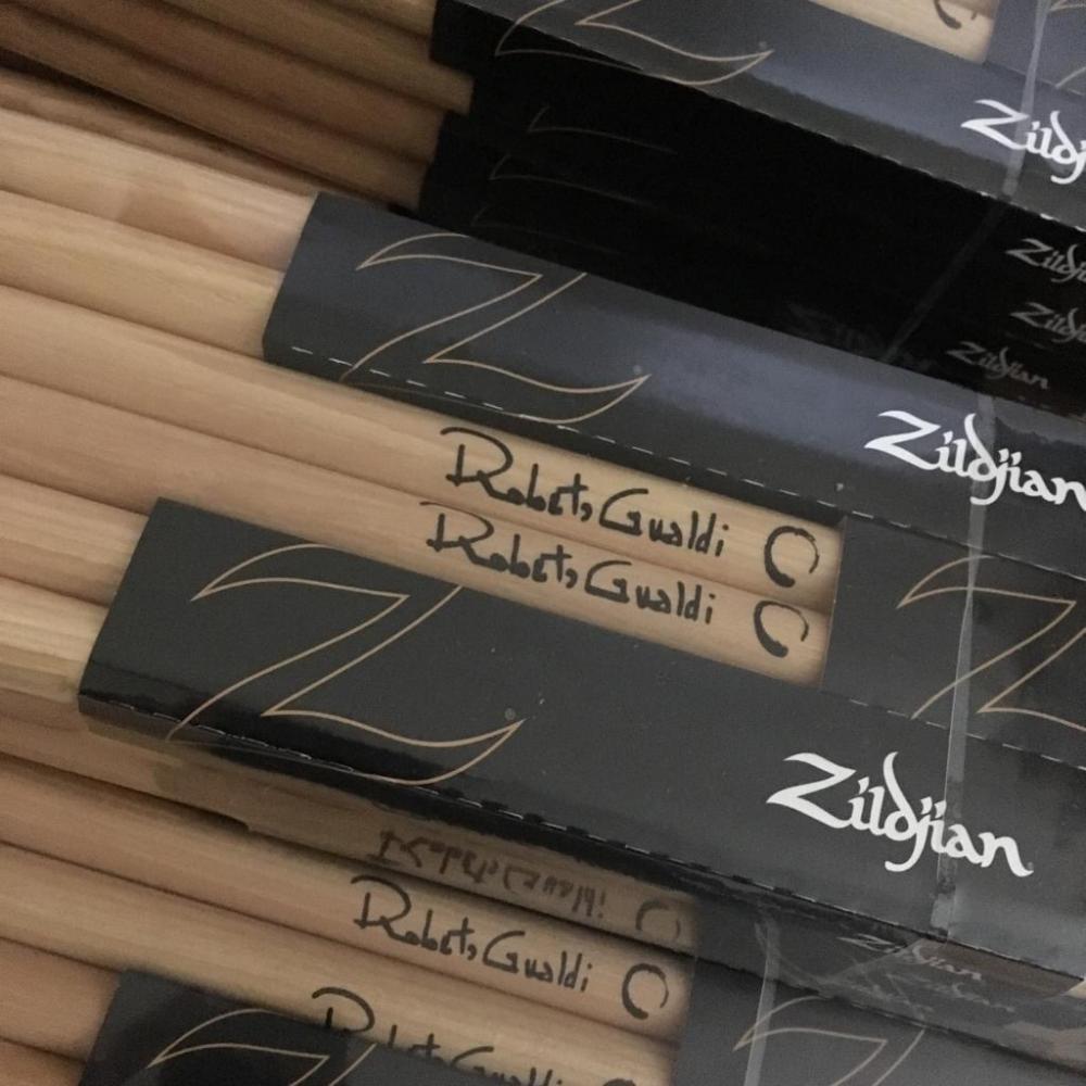 Zildjian: bacchette Signature per Roberto Gualdi
