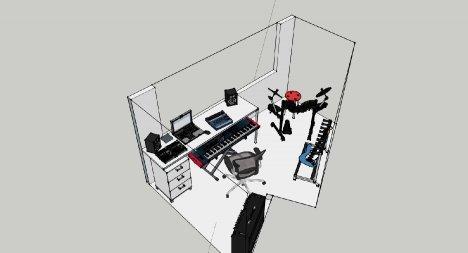 Accordo lo studio di registrazione a casa - Studio di registrazione in casa ...