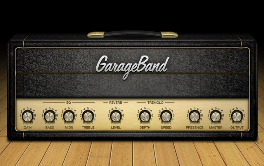 how to hear guitar in garag band
