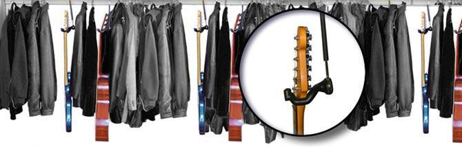 Cambio di stagione con Guitar Hanger