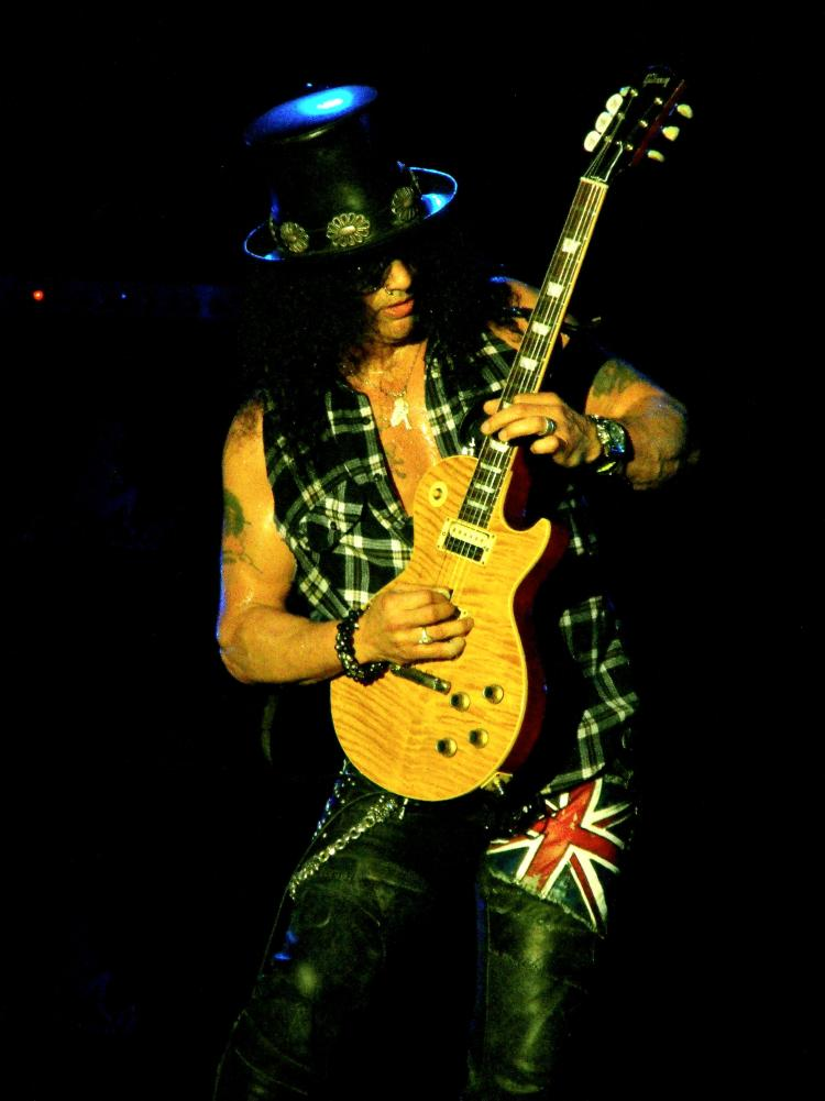 Slash dal vivo!