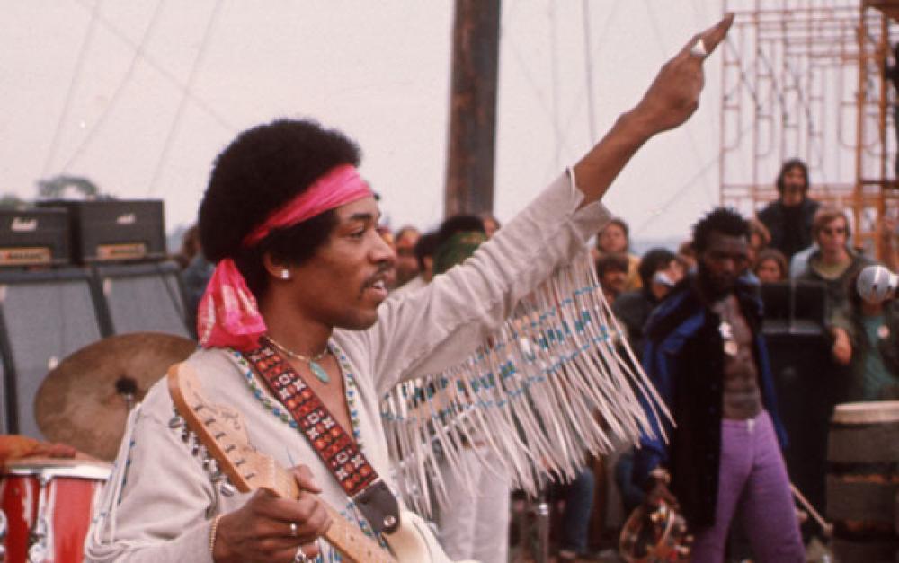 Jimi Hendrix a Woodstock: Go America!