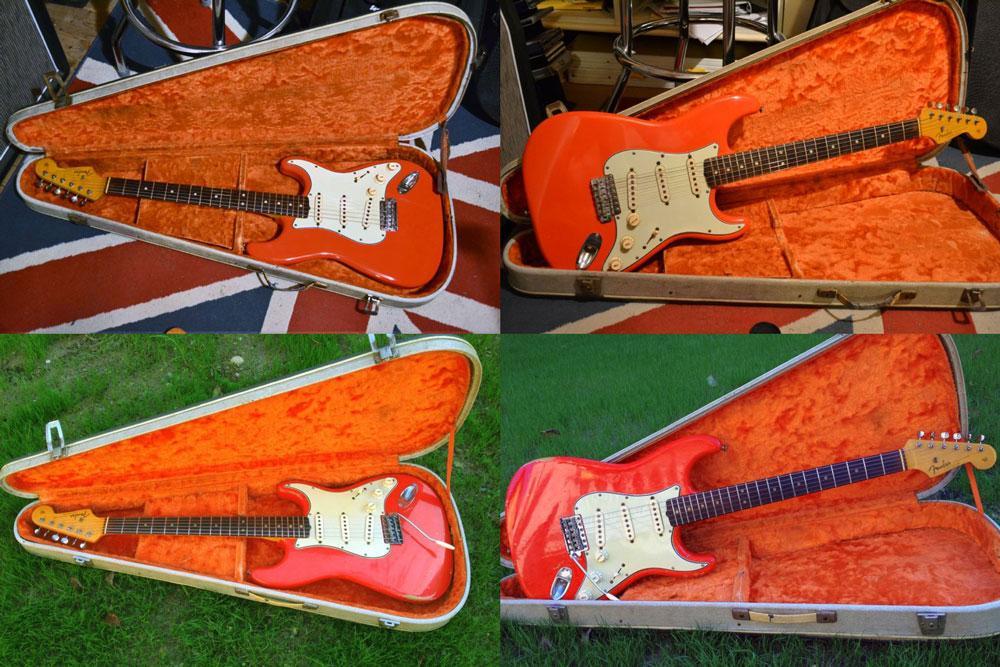 Fender Stratocaster 1964 Fiesta Red Replica