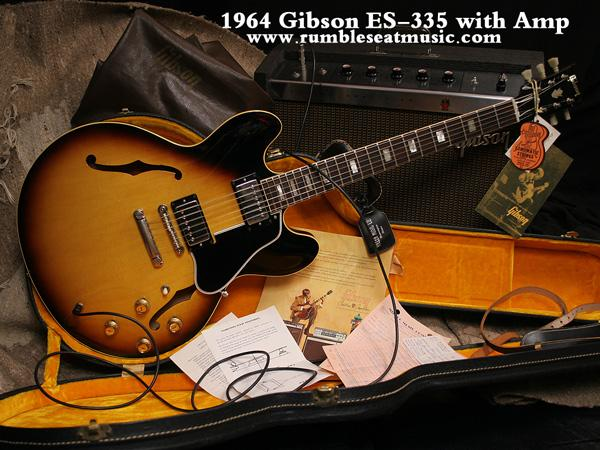 Gibson ES-335: l'era delle Dot Neck