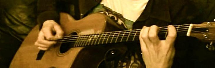 Chitarra acustica: l'assolo di